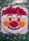 クリスマスに♪アンパンマン☆サンタケーキ