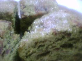 神戸屋風の緑茶と甘納豆のスコーン