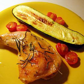 チキン&野菜のぐうたらイタリアングリル