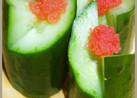 お正月のお節料理(おせち)に!胡瓜で門松