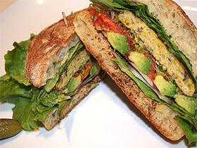 ヘルシー カツレツ サンドイッチ