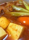 調味料2つ♬簡単濃厚スンドゥブ♥味噌チゲ