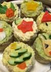 クリスマスお寿司♪(ベジタリアン対応)