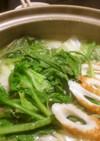 黄金比のスープ★塩ちゃんこ鍋