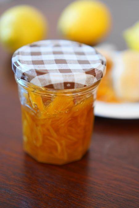 レモンの蜂蜜マーマレード