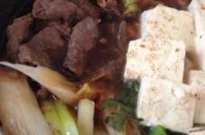 簡単❤20分ですき焼き✨白菜春菊✨
