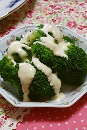 ブロッコリー(野菜)のマヨぽんソース