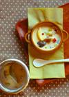 スープジャーでクリームスープパスタ
