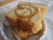 メイプルシロップケーキの写真