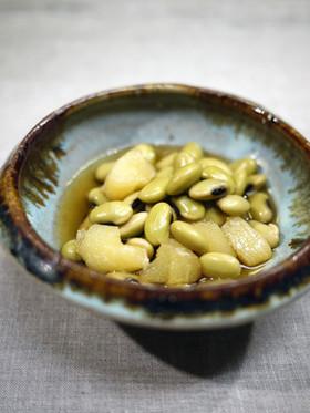 お正月のひたし豆