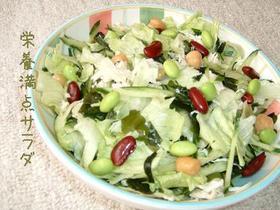 栄養満点サラダ!!