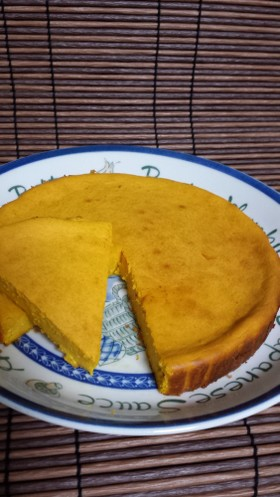 カボチャのベイクドチーズケーキ♪