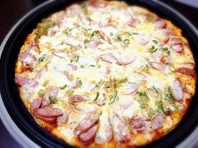 ホットプレートで作る簡単パーティーピザ!