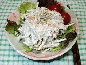 お惣菜屋さんのごぼうサラダ