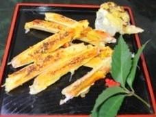 蟹(タラバ・ズワイ)の黄金焼