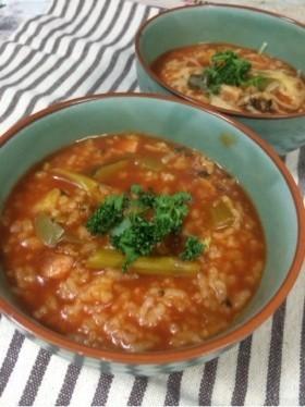 野菜ソムリエのイタリアンな七草粥