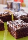トルコのお菓子☆しっとりカカオケーキ