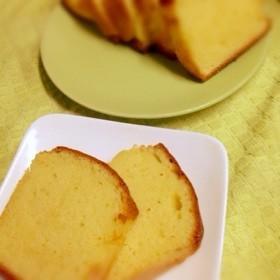 しっとりフワフワ♪簡単パウンドケーキ