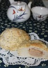 ほうじ茶❁香るメロンパン