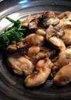 牡蠣のバタープリプリ炒め