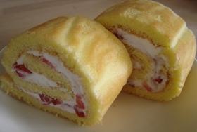 超簡単!ロールケーキ