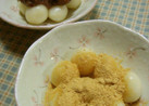 ✿豆腐白玉だんご✿