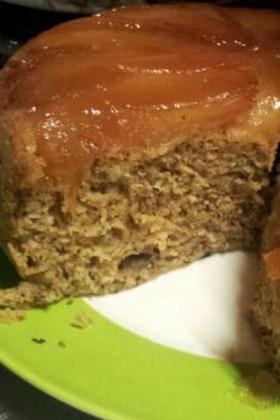 りんごと紅茶の炊飯器ケーキ