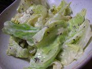 簡単キャベツサラダの写真