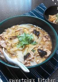 15分で◎鶏と白菜のオイスターソース煮◎