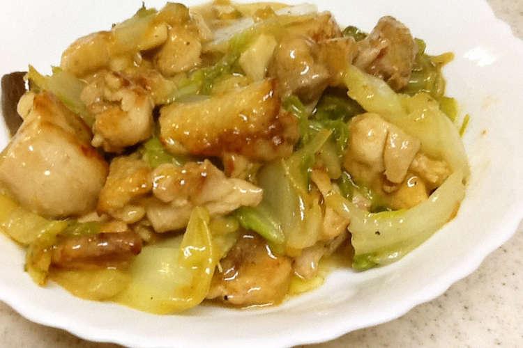 鶏肉 白菜 レシピ