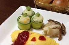 簡単かわいいポテトサラダ(*^^*)