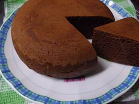 HM&炊飯器で、簡単チョコケーキ