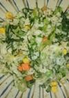 小松菜チャーハン(離乳食完了期)