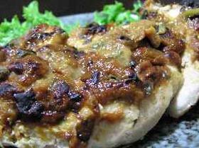 サッパリと美味しい鶏の梅味噌