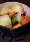 切って焼くだけ!野菜のミルクパングリル