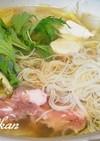 ピリ辛素麺鍋