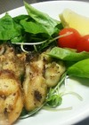 牡蠣のオリーブオイルガーリックソテー