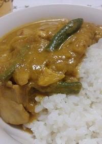 簡単インド風チキンカレー