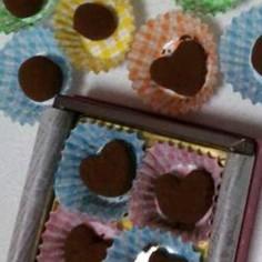 簡単生チョコ♥