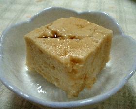 牛乳ごま豆腐