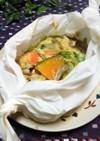 ごま味噌マヨネーズで蒸し野菜