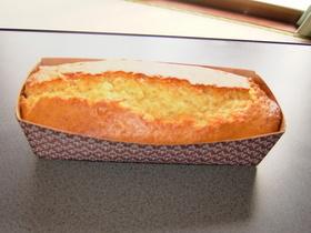 簡単パウンドケーキ(メープル味)