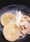 大根と豚バラの梅煮