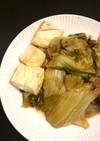 白菜の炊いたん(すき焼き風)