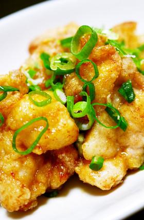 肉汁がジュワッと旨い!鶏もも肉の油淋鶏