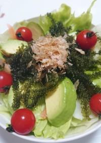 沖縄の海ぶどうサラダ