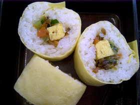 お年寄り向け巻き寿司