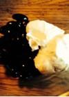 黒豆with水切りヨーグルト
