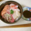 ねぎトロ海鮮丼・みんと風