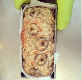 ベビーもOK☆豆腐バナナのパウンドケーキ